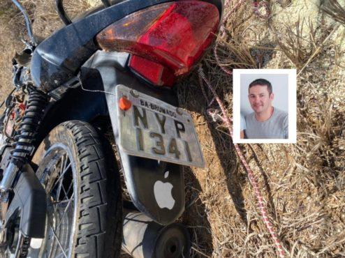 Motociclista morre em acidente com caminhão na BA-152 em Livramento de Nossa Senhora